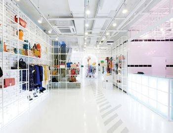چیدمان فروشگاه های پوشاک